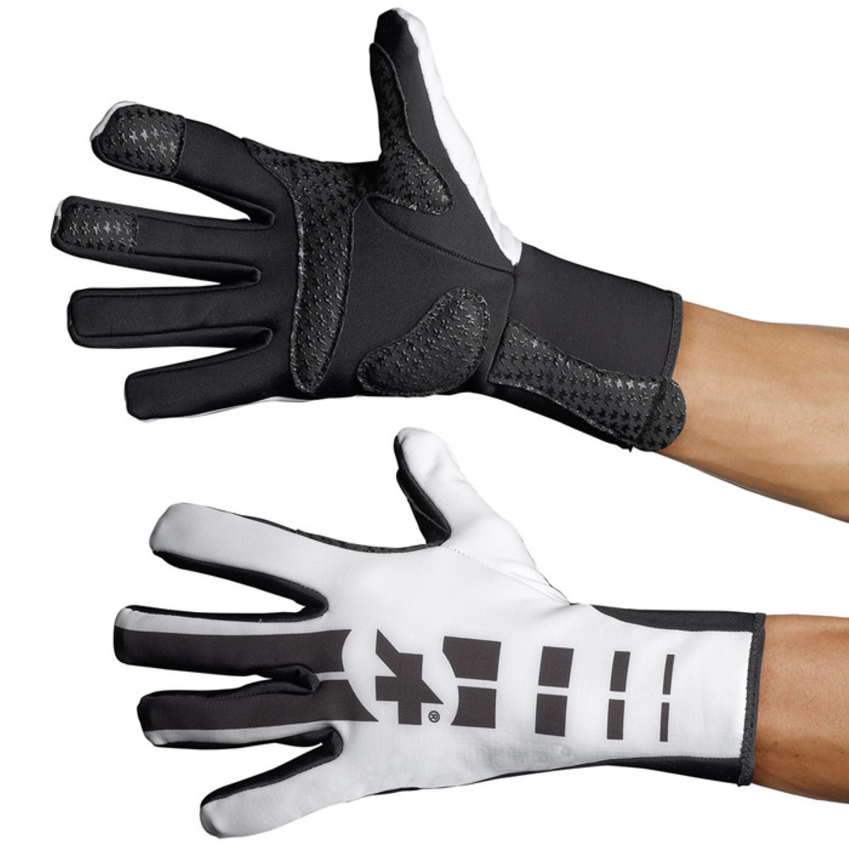 Gants Assos earlyWinter s7 - Small White Panther Gants d'hiver