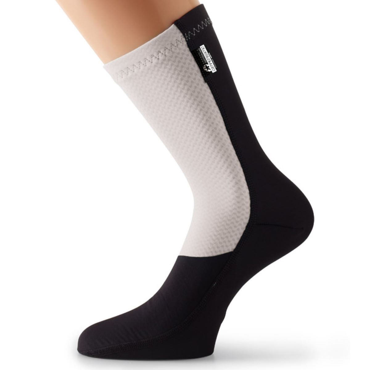 Chaussettes Assos fuguSpeer_S7 - (0) White Panther Chaussettes vélo