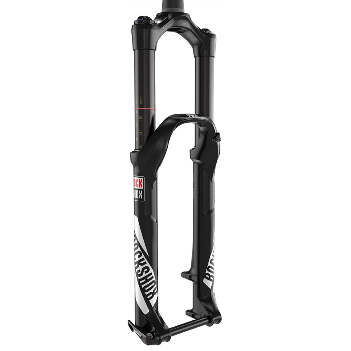 Fourche RockShox Pike RCT3 (650b, Solo Air, Suspension) - Noir