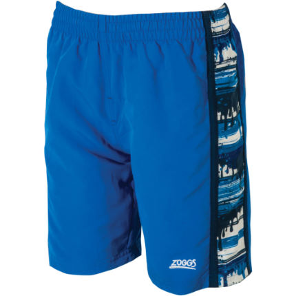 "Zoggs Boys Water Spill 15"" Spliced Panel Short (SS16)"