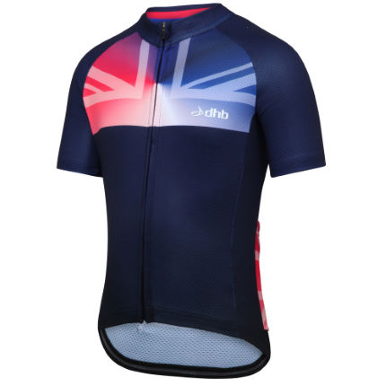 dhb Kids GB Edition Short Sleeve Jersey