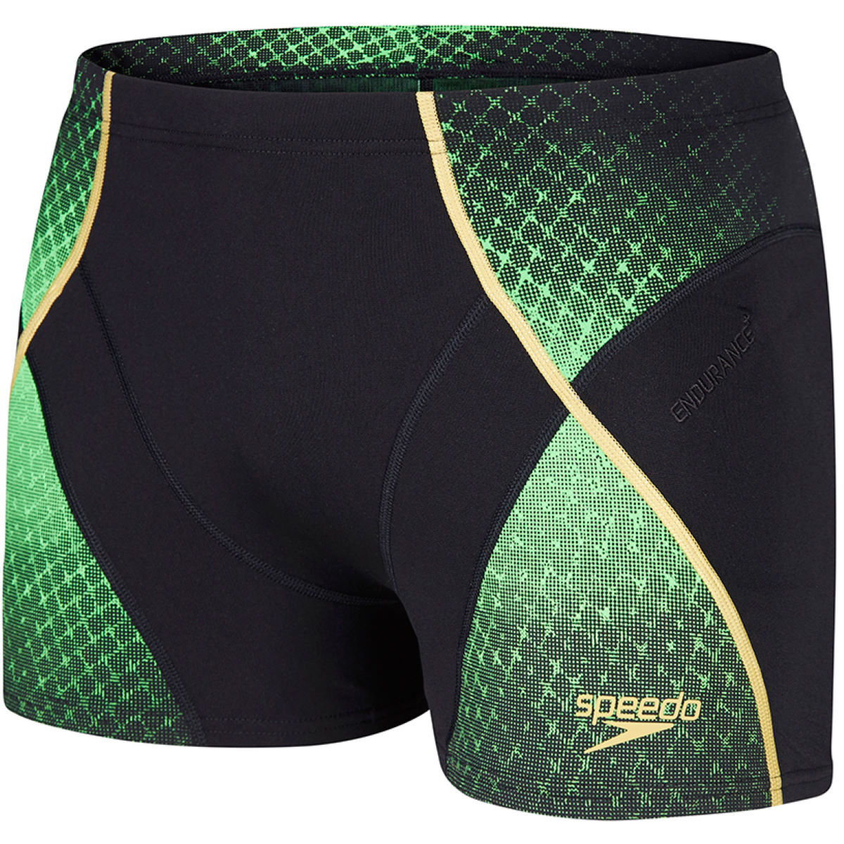 Boxer de bain Speedo Fit Pinnacle (PE16) - 28'' Black/Green/Gold Maillots de bain Adulte