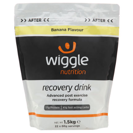 Wiggle Nutrition Recovery Drink