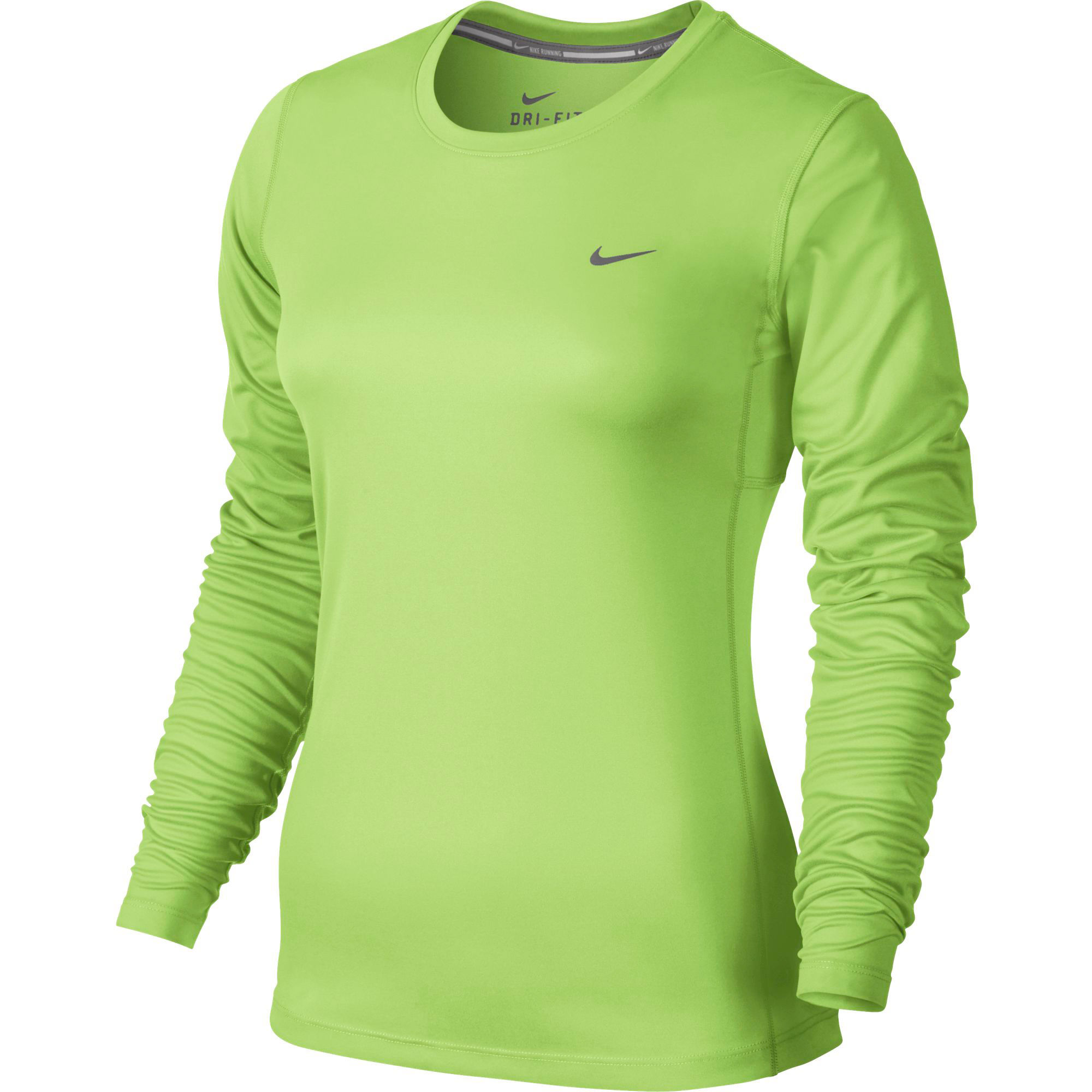 Wiggle nike miler long sleeve women 39 s fa15 long for Women s running shirts