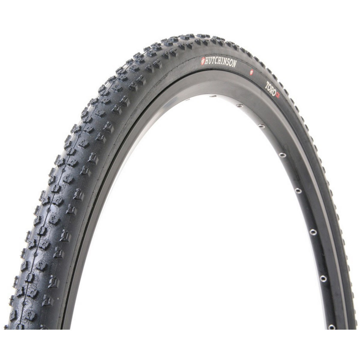 Pneu de cyclo-cross Hutchinson Toro (souple) - 700 x 32c 700c Noir