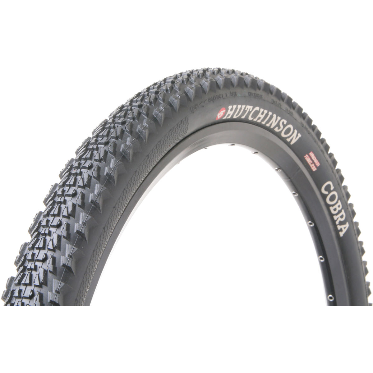 Pneu VTT Hutchinson Cobra (tubeless ready, souple) - 26 x 2.1 Noir