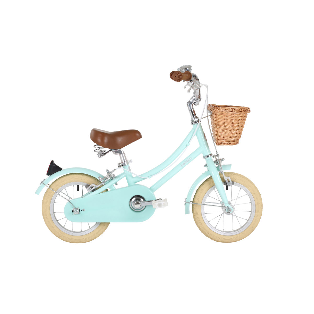 Bobbin Gingersnap 12 (Pale Mint)   Kids Bikes  Under 7