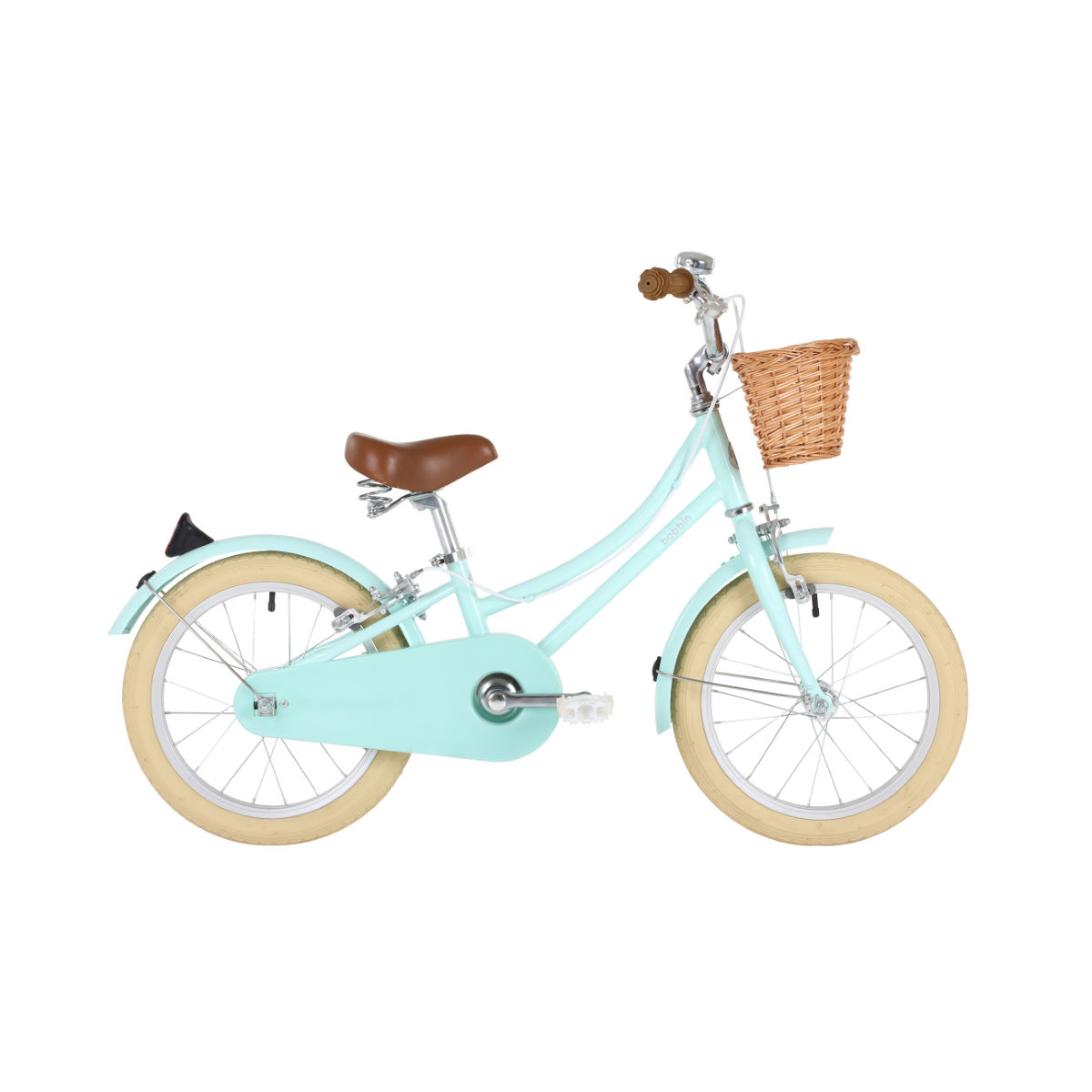 Bobbin Gingersnap 16 (Pale Mint)   Kids Bikes  Under 7