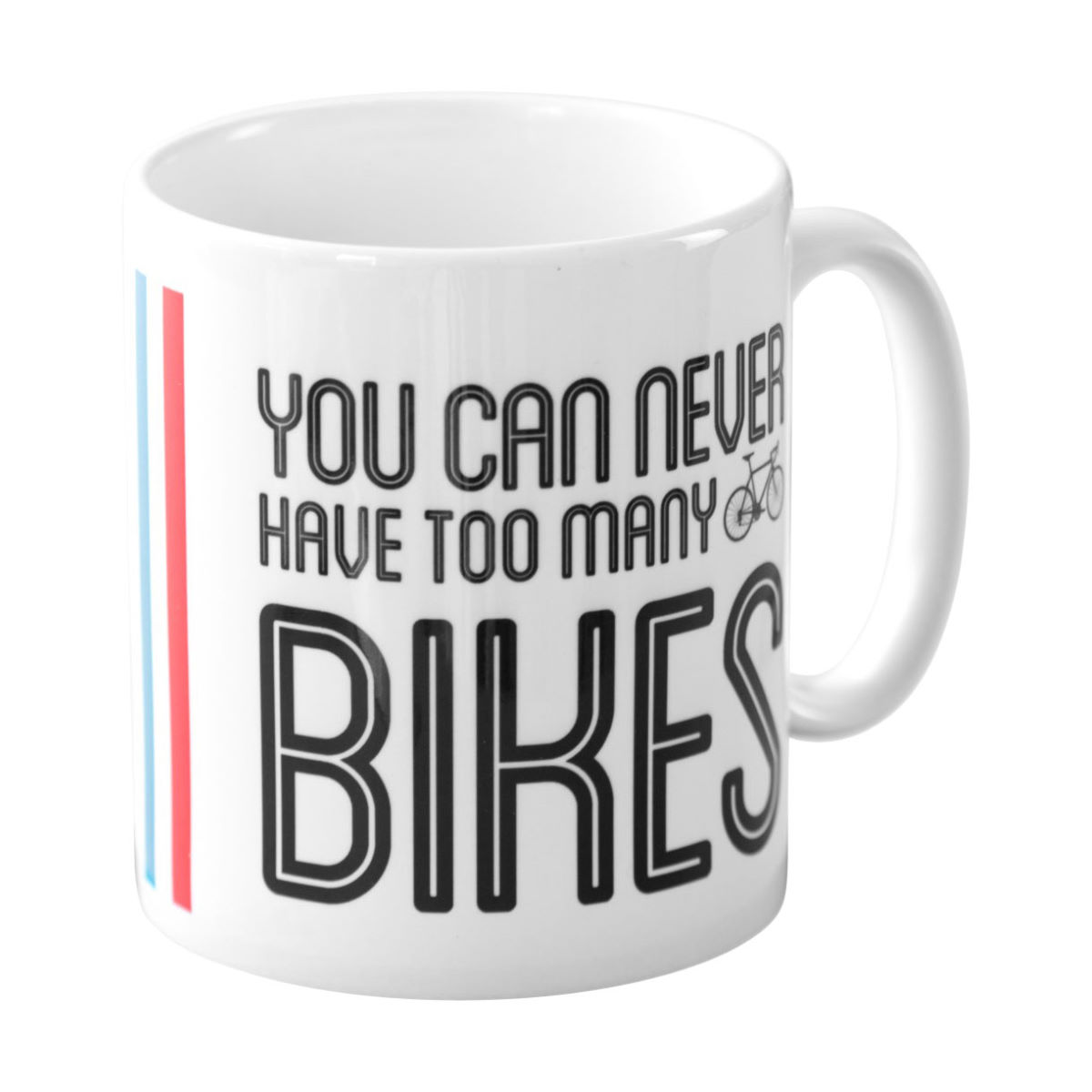 Quirky Gift Library Boxed Too Many Bikes Mug   Gift Items