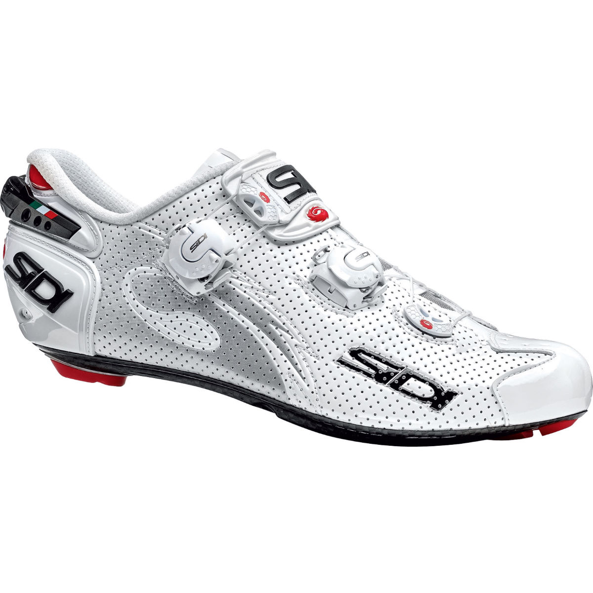 Chaussures de route Sidi Wire Carbone AIR - 40 Blanc/Blanc