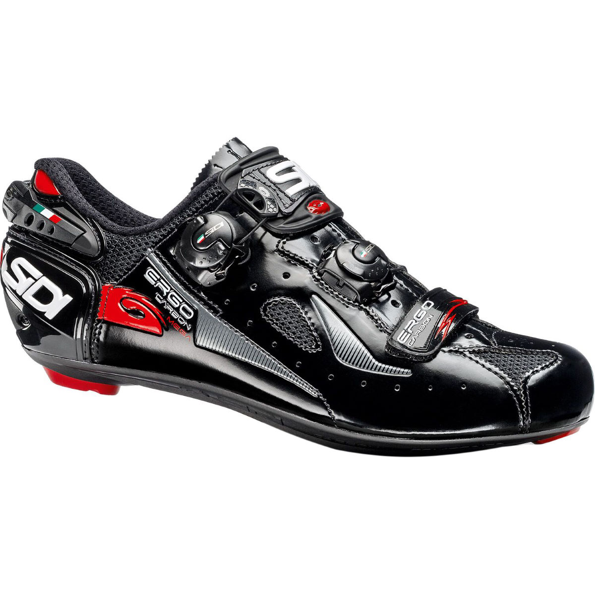 Chaussures de route Sidi Ergo 4 (carbone, coupe Mega/large) - 40