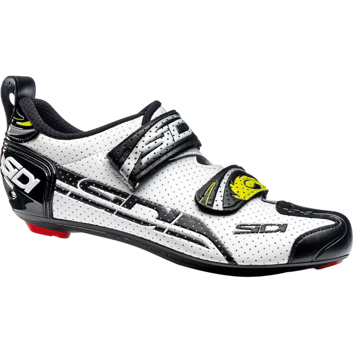Chaussures de triathlon Sidi T-4 Air (carbone) - 40 Blanc/Noir