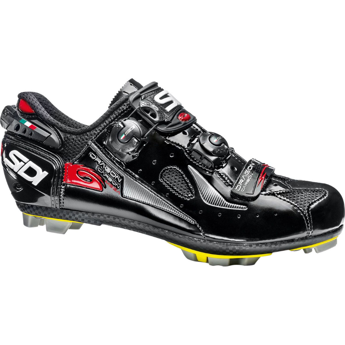 Chaussures VTT Sidi Dragon 4 SRS (carbone, coupe Mega/large) - 40
