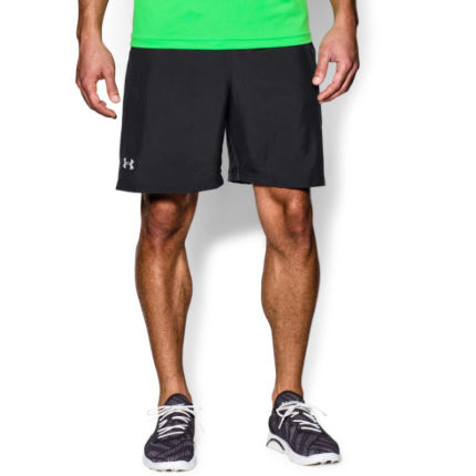 Short Under Armour Launch Solid (18 cm environ, AH16)
