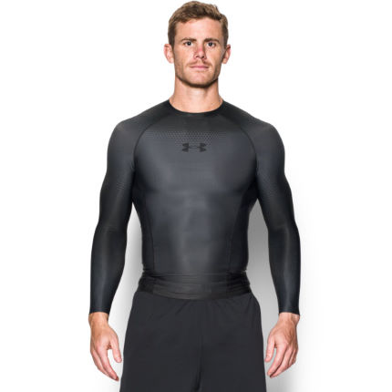 Maillot à compression Under Armour Charged (manches longues, AH16)