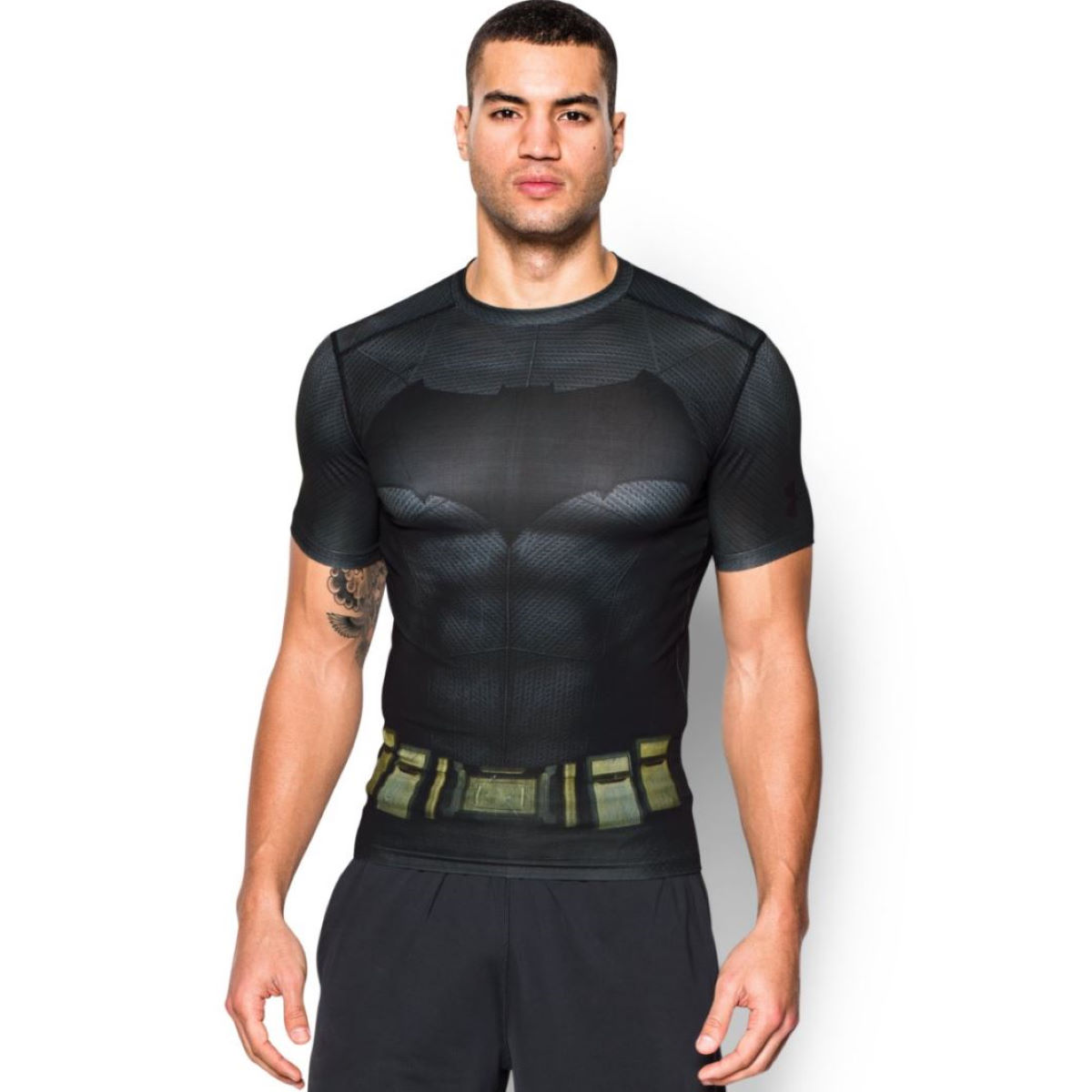 Camiseta de compresión Under Armour Transform Yourself Batman - Prendas de compresión