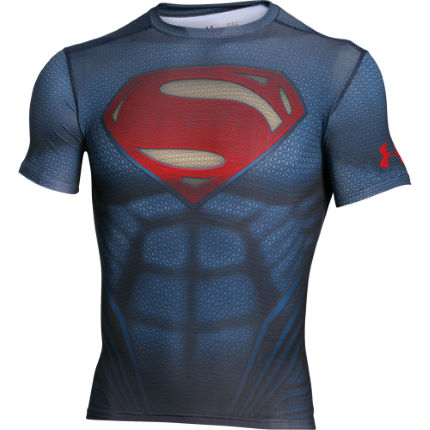 Under Armour Alter Ego Superman Suit Short Sleeve