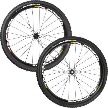 Set di ruote Crossride Quest Tubeless 650B (con copertoni) - Mavic