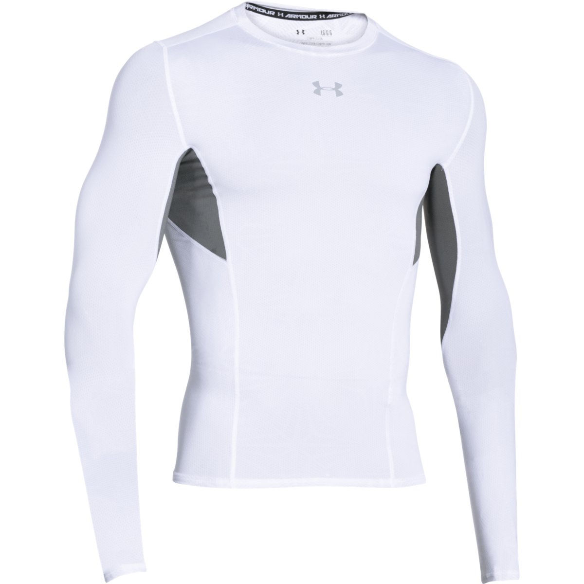 Wiggle under armour coolswitch long sleeve compression for Under armour heatgear white shirt