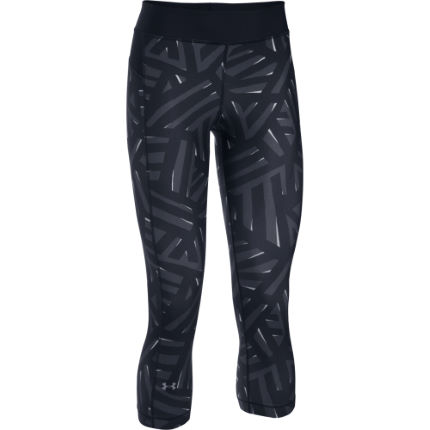 Under Armour Women's HeatGear Armour Printed Capri (AW16)