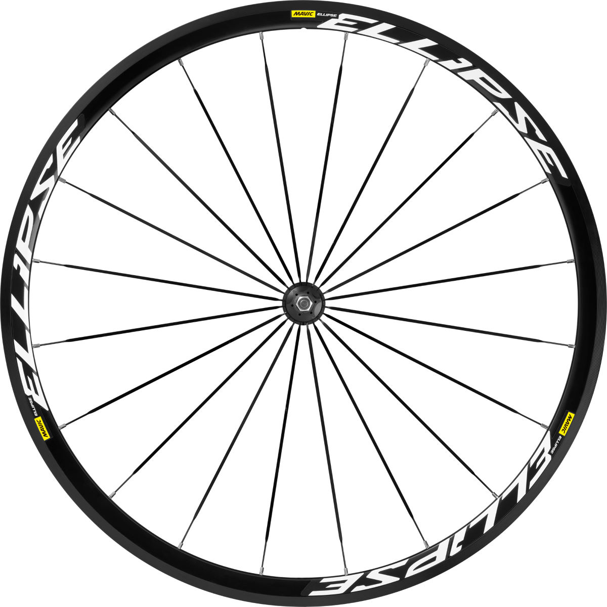 Roue avant de piste Mavic Ellipse - 700c - Track Only Noir Roues performance