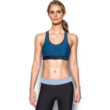 Under Armour Women's HeatGear Armour Printed Mid Bra (AW16)