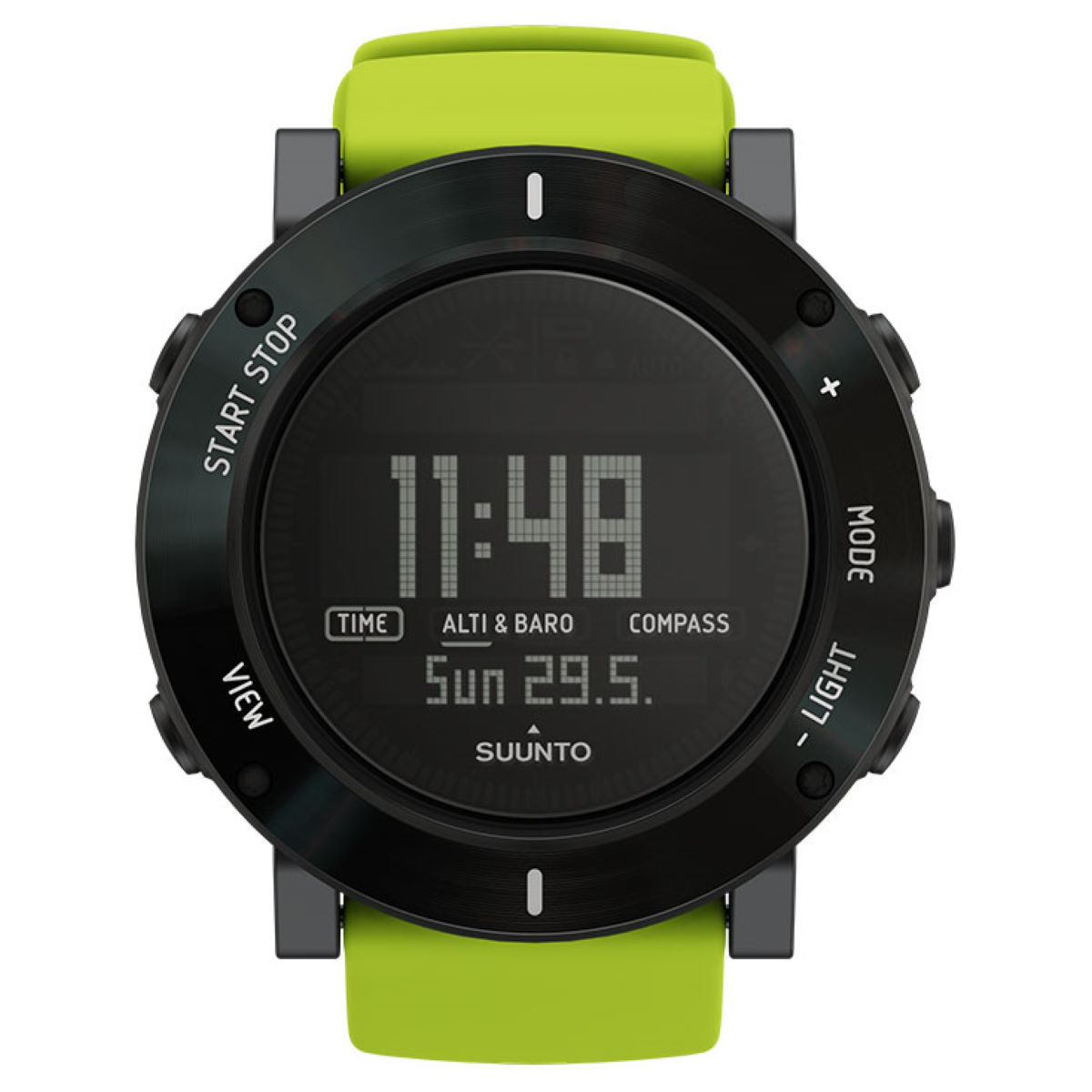 Montre Suunto Core Crush - Lime Crush Compteurs GPS de running