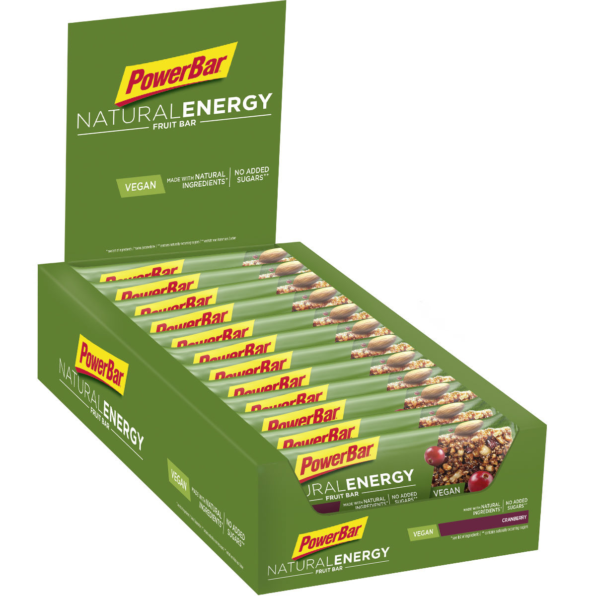 Barritas de frutas PowerBar Natural Energy (24 x 40 g) - Barritas