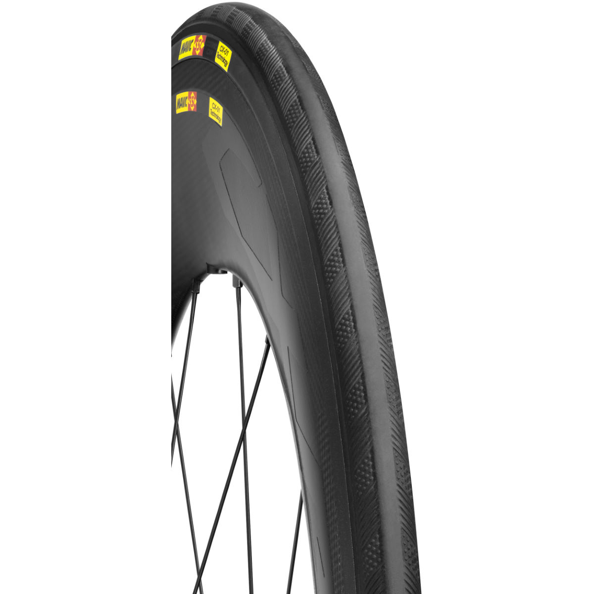 Boyau Mavic CXR Ultimate PowerLink - 700 x 23c Noir Pneus à boyaux de route