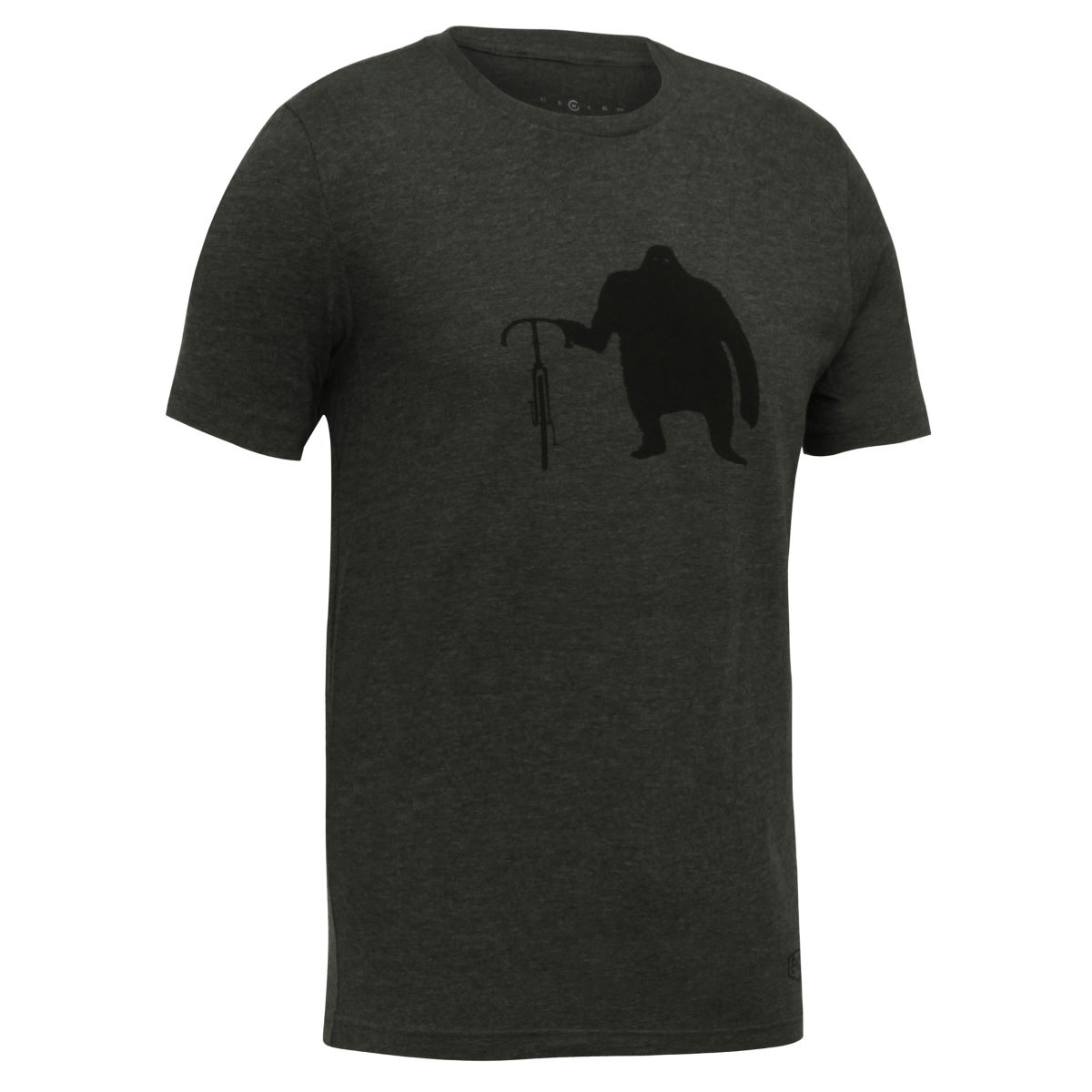 T-shirt Endurance Conspiracy Clyde - S Heathered Charcoal T-shirts