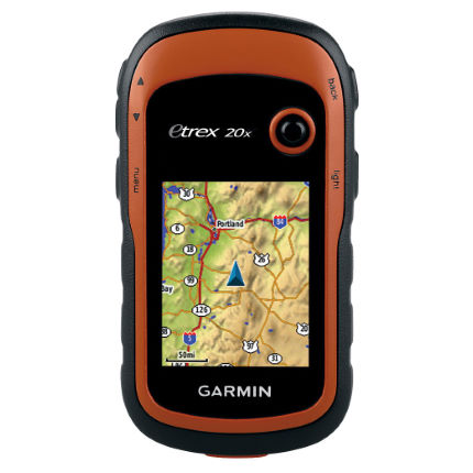 Garmin eTrex 20x GPS with Western Europe Maps