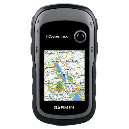 Unità GPS eTrex 30x con mappe dell'Europa occidentale - Garmin