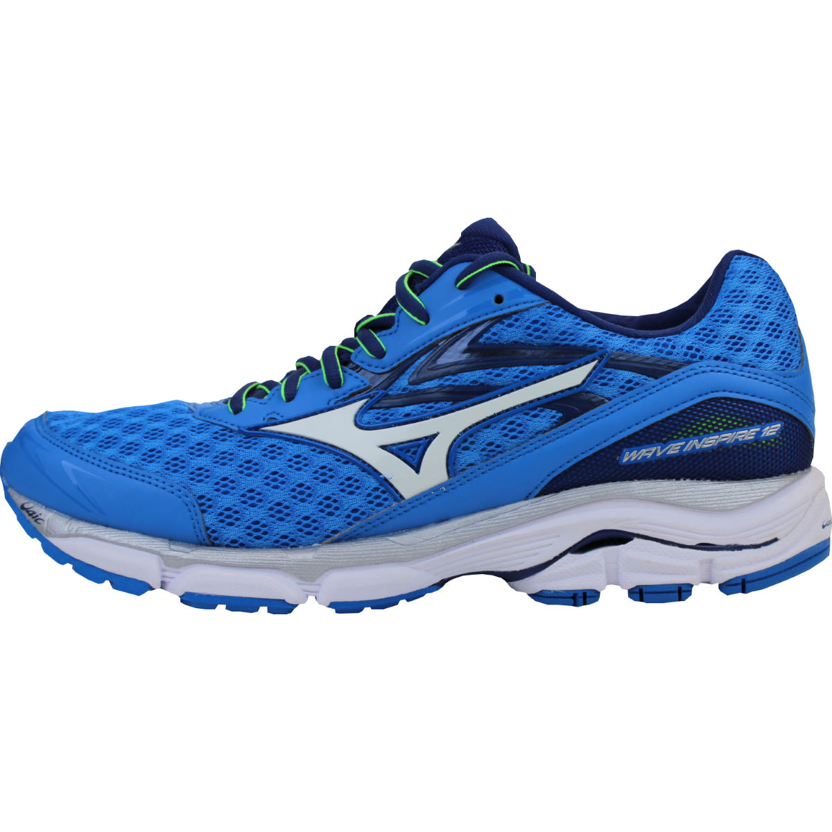 Chaussures Mizuno Wave Inspire 12 (PE16) - 7 UK Blue/White/Blue Chaussures de running stables
