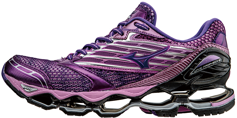 womens mizuno wave prophecy 3 purple
