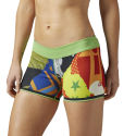 Reebok Womens CrossFit Reversible Bootie Short (SS16)