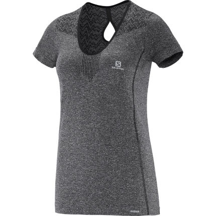Salomon Women's Elevate Short Sleeve Seamless Tee (SS16)