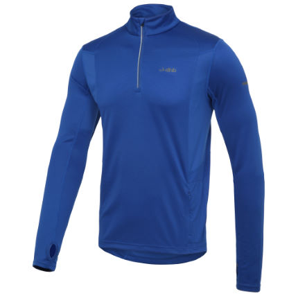 dhb Long Sleeve Quarter Zip Run Top