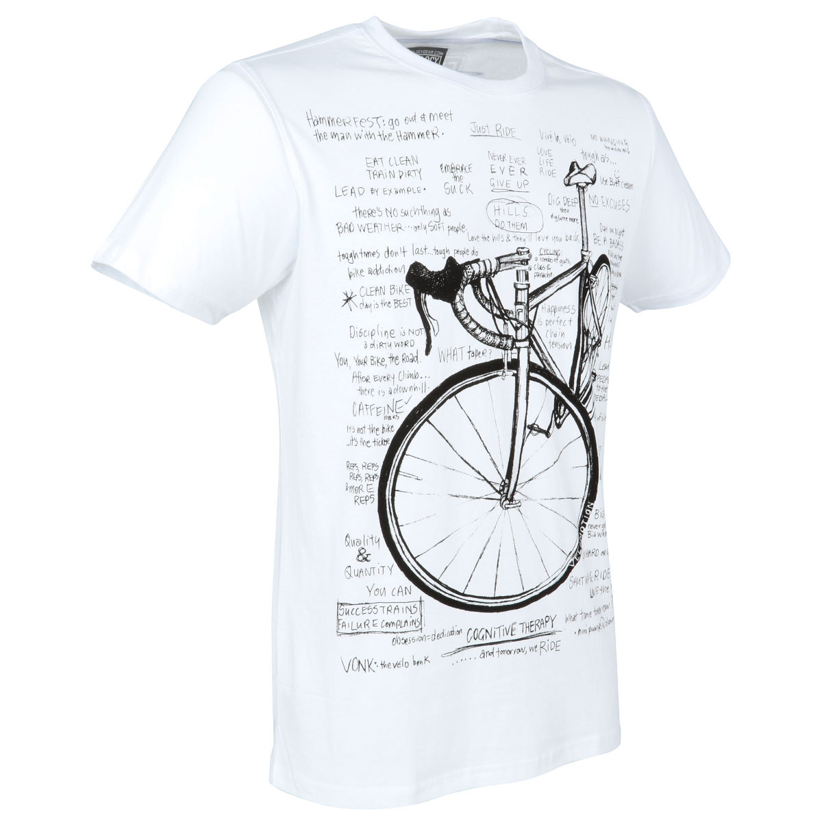 T-shirt Cycology Cognitive Therapy - S Blanc T-shirts