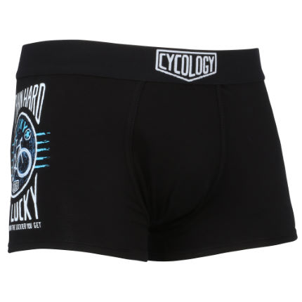 Cycology Train Hard Get Lucky Boxer Brief