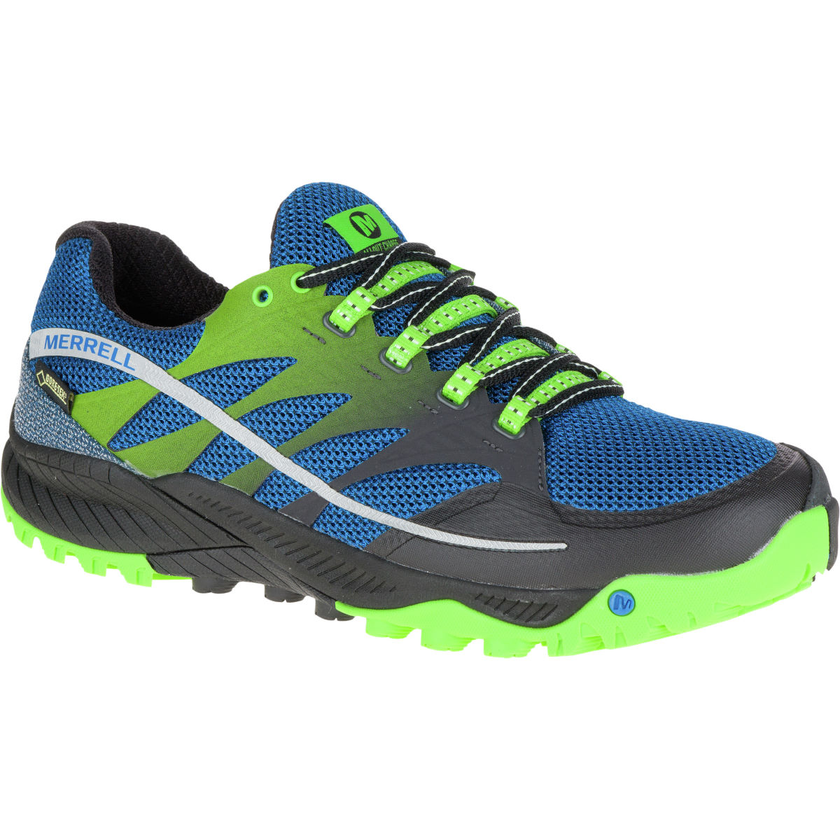Merrell All Out Charge GTX Shoes (SS16) - UK 8 Blue Dusk