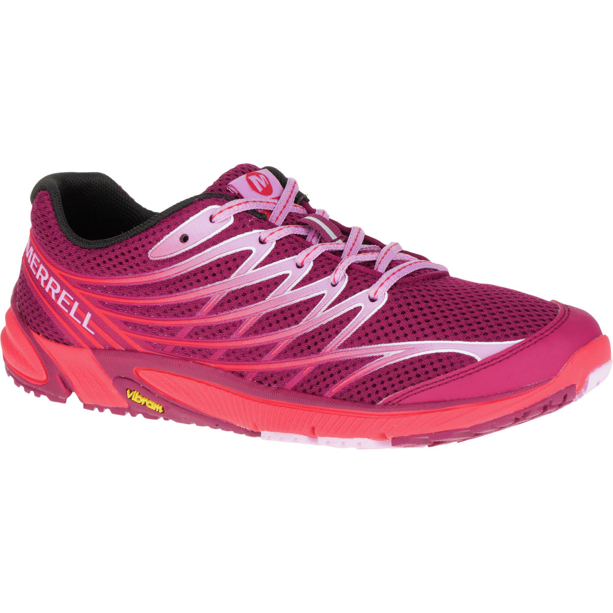 Merrell Women's Bare Access Arc 4 Shoes (SS16) - UK 5.5 Bright Red