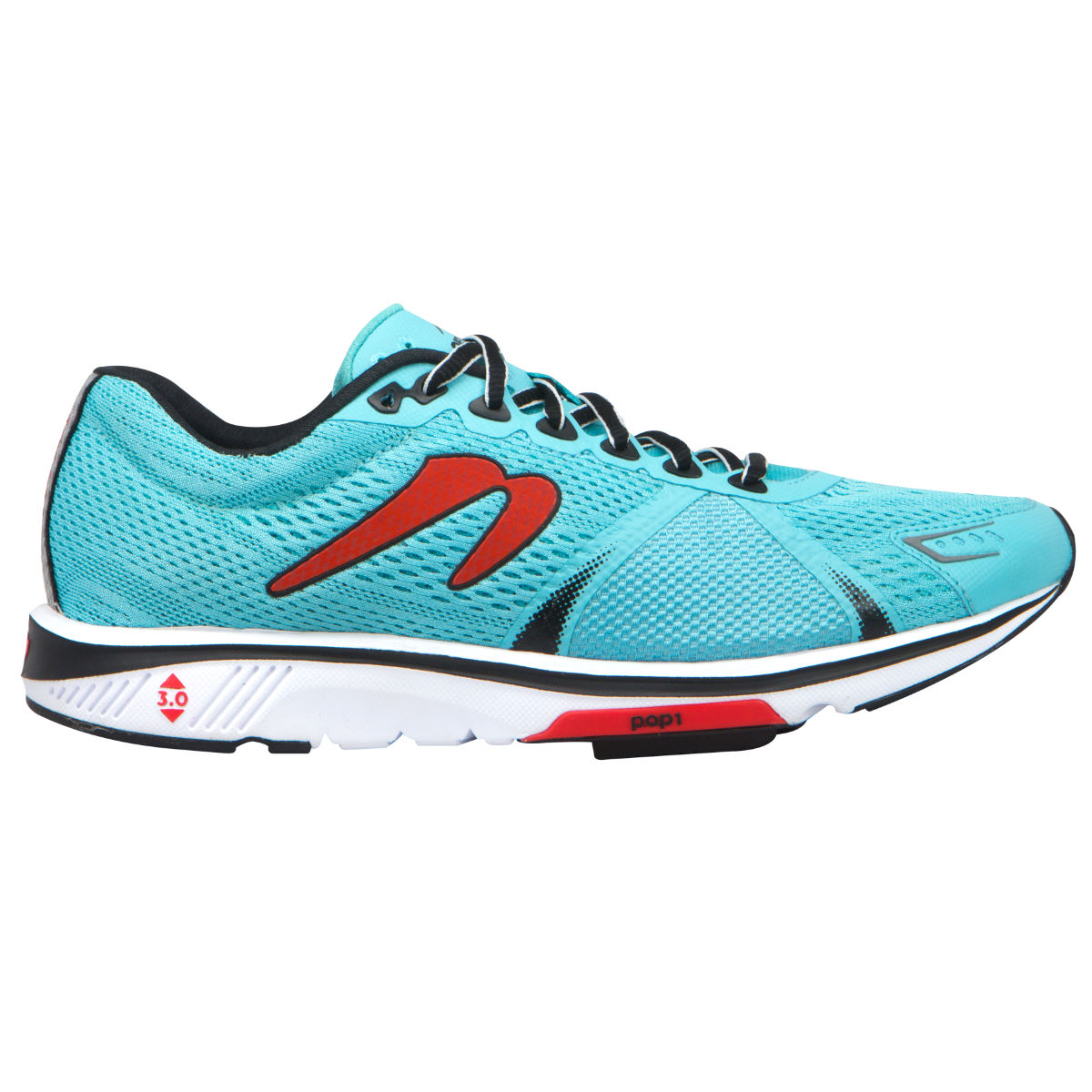Chaussures Newton Running Gravity V (PE16) - 7 UK Blue/Red Chaussures de running amorties