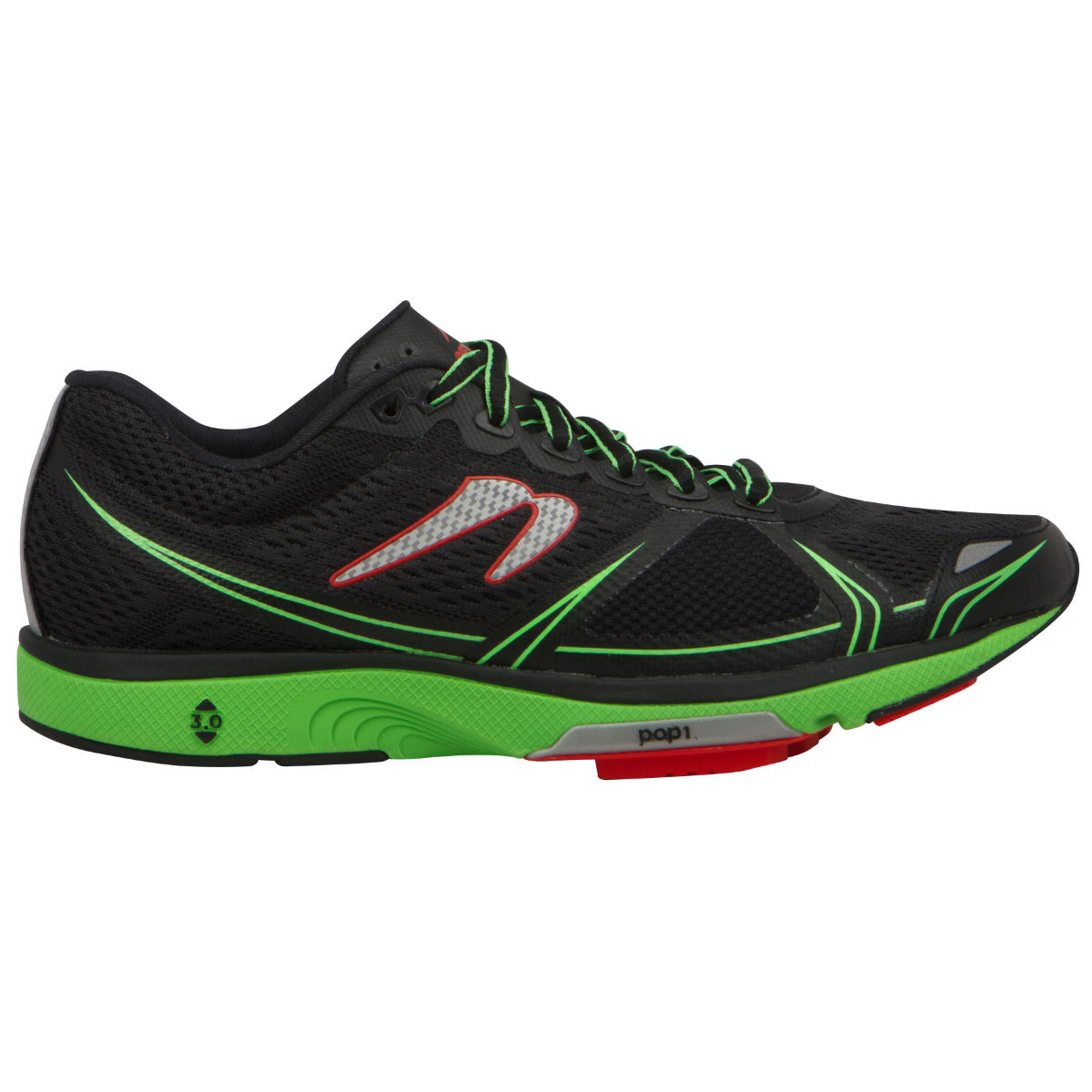 Newton Running Shoes Motion V (SS16) - UK 8 Black/Green