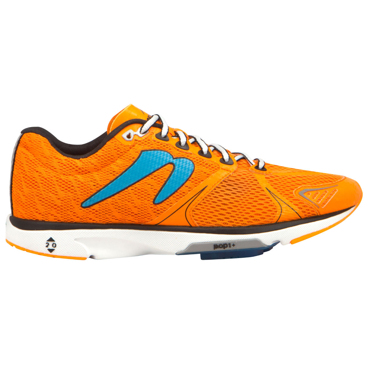 Newton Running Shoes Distance V (SS16) - UK 8.5 Orange/Blue