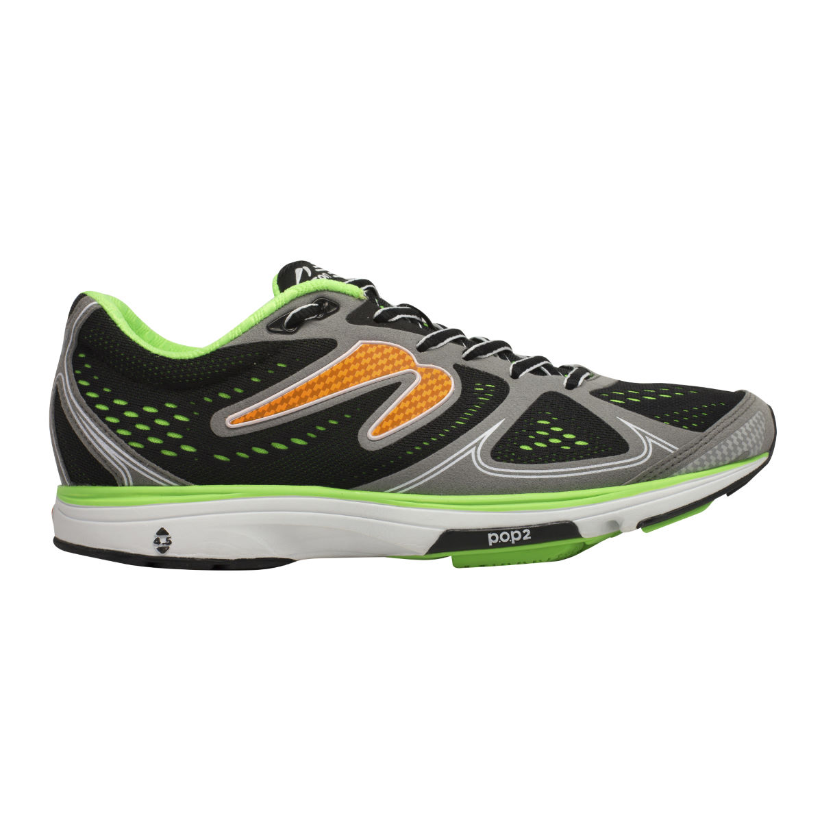 Chaussures Newton Running Fate (PE16) - UK 6 Noir/Gris Chaussures de running amorties