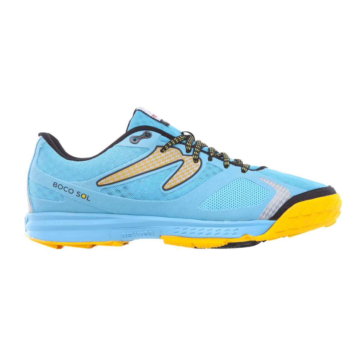 Newton Running Shoes Boco Sol (SS16) - UK 11.5 Blue/Yellow