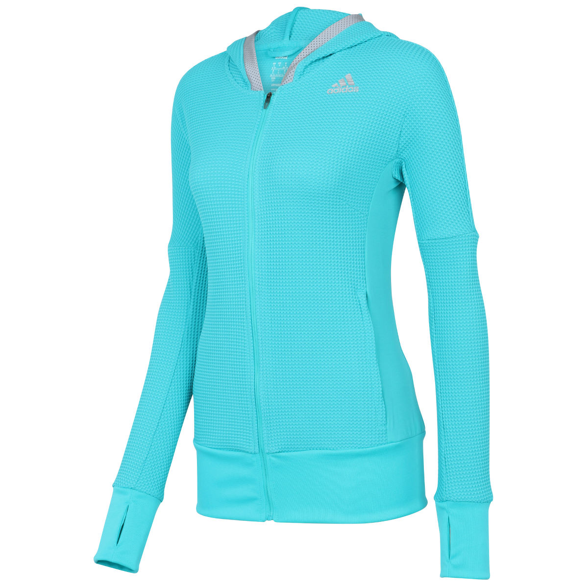 Adidas Womens City RGY Hood (SS16)   Long Sleeve Running Tops