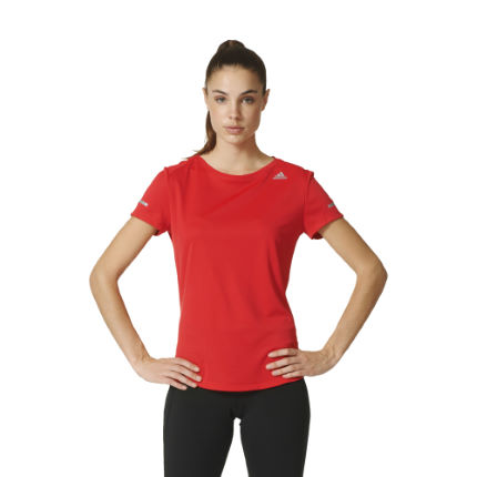 Adidas Women's Sequencials Climalite Run Tee (SS16)