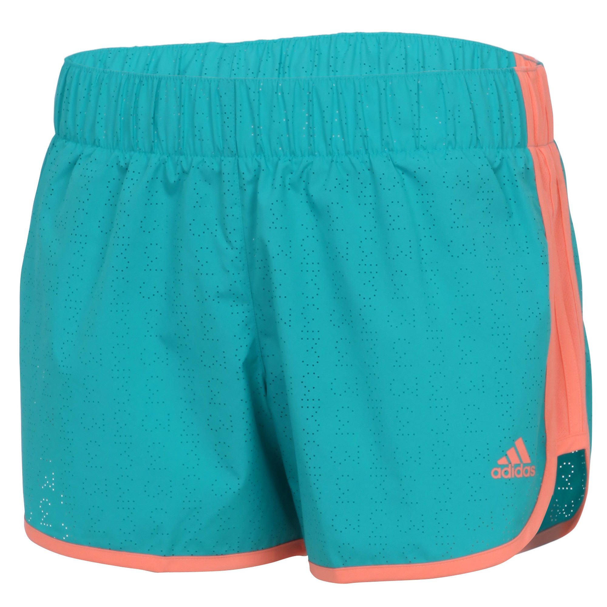 shorts de running adidas women 39 s m10 perforated short ss16 wiggle france. Black Bedroom Furniture Sets. Home Design Ideas