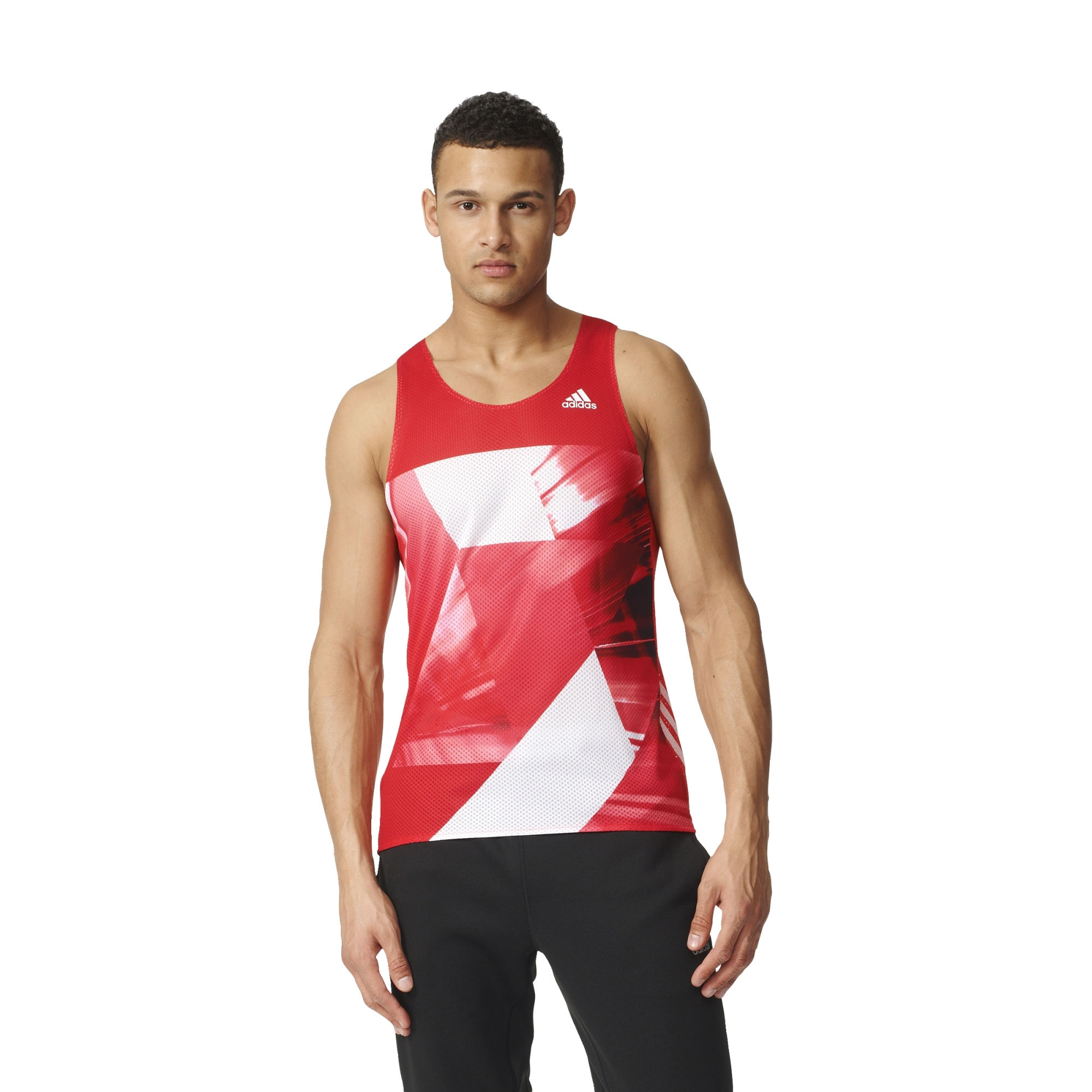 d bardeurs de running adidas adizero singlet aw16 wiggle france. Black Bedroom Furniture Sets. Home Design Ideas